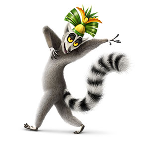 all hail king julien lemur face clipart lemur clip art black and white